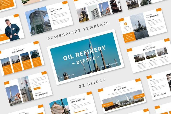 Thumbnail for Diesel - Powerpoint Template