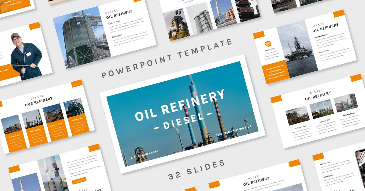 Download Diesel - Powerpoint Template by deemakdaksinas