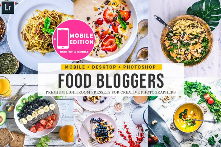 Thumbnail for Food Blogger Lightroom Presets