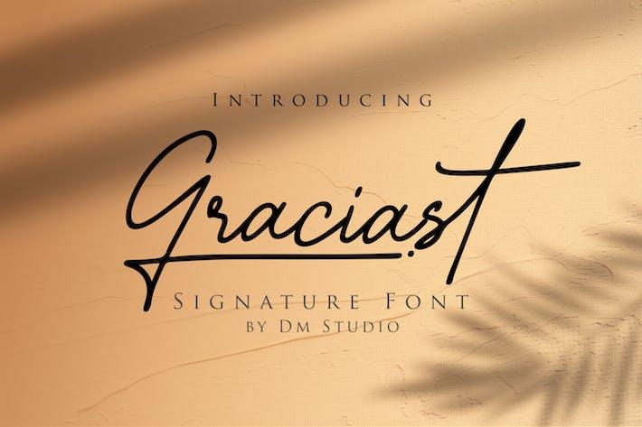 Thumbnail for Graciast - Fuente de firma