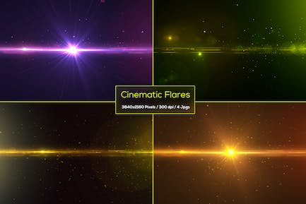 Cinematic Flares Backgrounds