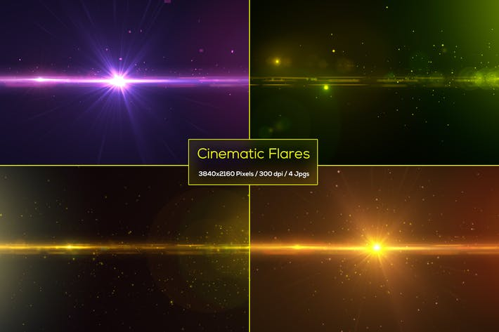 Thumbnail for Cinematic Flares Backgrounds