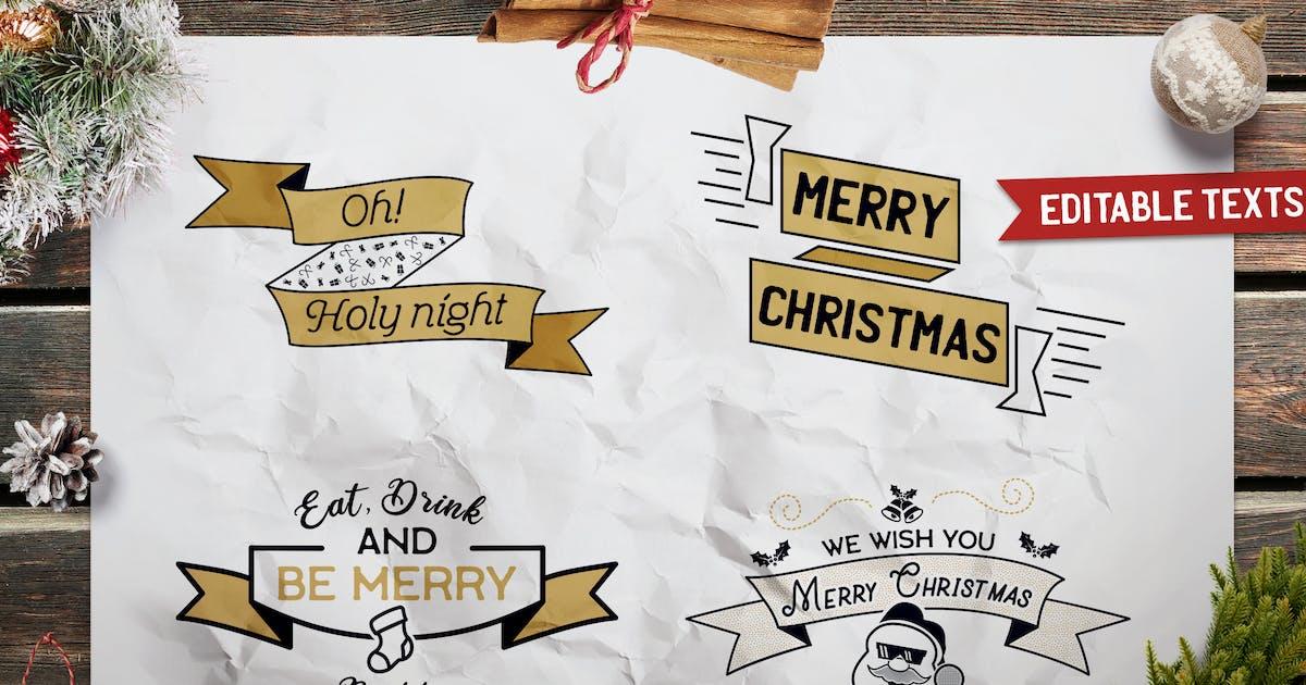 Download Christmas Designs Bundle. Vector TShirt Prints SVG by JeksonJS