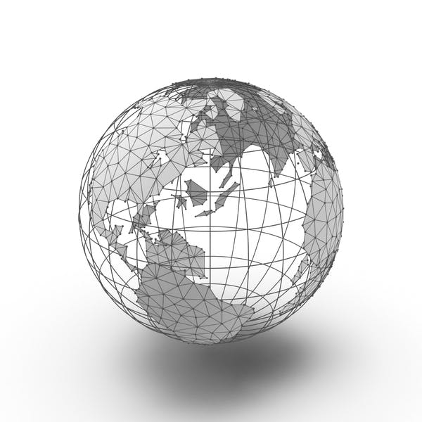 Thumbnail for Wire Frame Globe