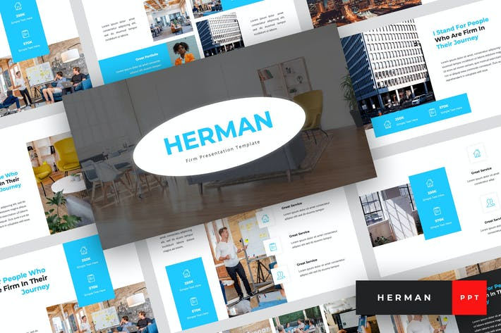 Thumbnail for Herman - Firm PowerPoint Template