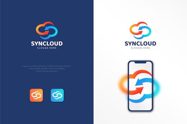 Sync Cloud - Cloud Sharing Logo