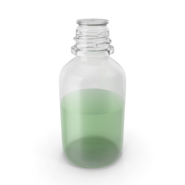 Laboratory Bottle Small With Methanol