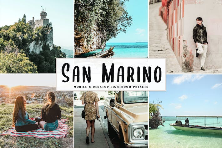 Thumbnail for San Marino Mobile & Desktop Lightroom Presets