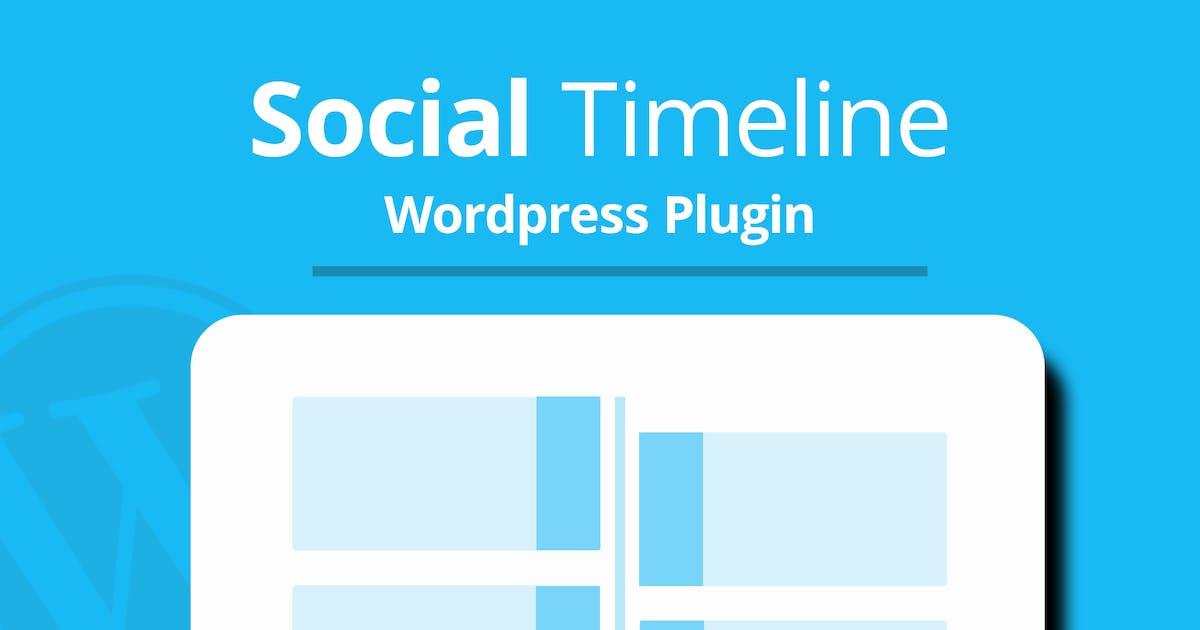 Download WordPress Social Timeline by DPereyra