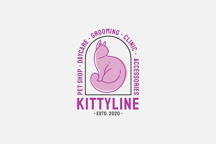 Thumbnail for Kittyline - Cat Daycare Logo