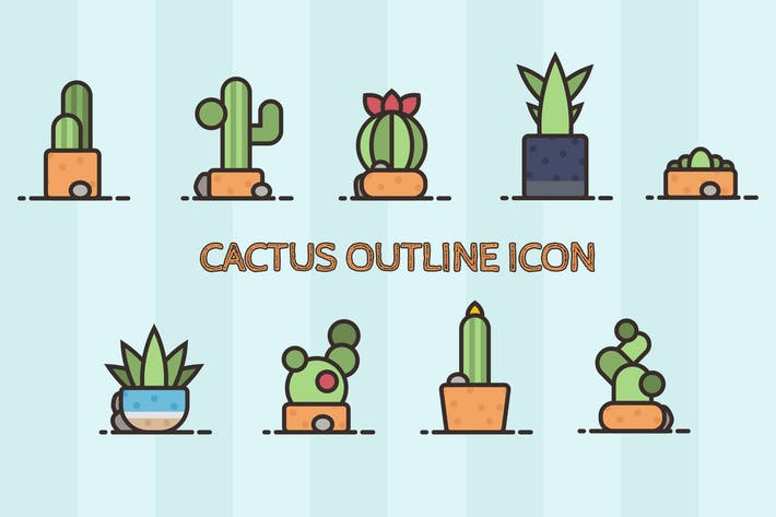 Thumbnail for Icône succulente de cactus