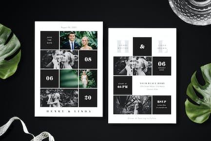 Simple Wedding Invitation 11