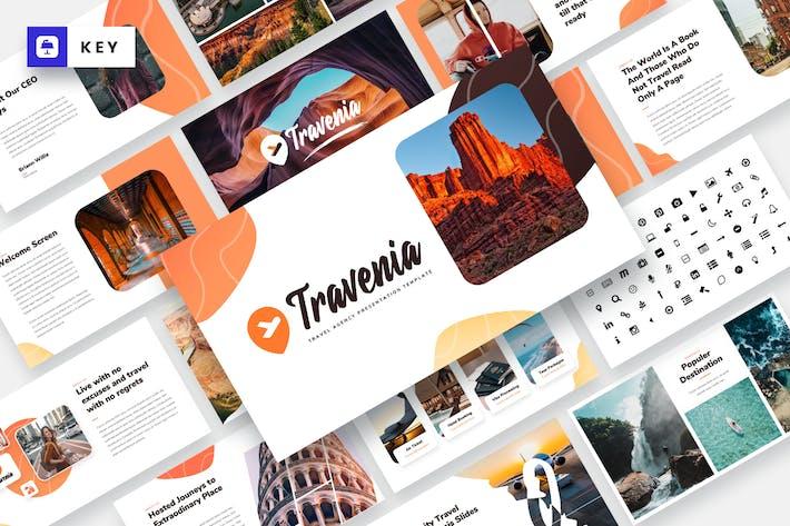 Thumbnail for Travenia - Travel Agency Keynote Template