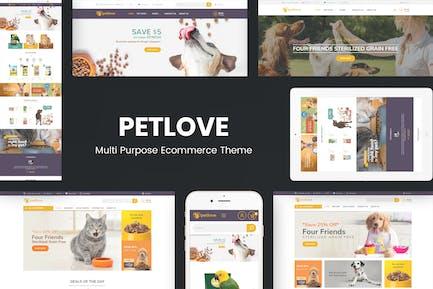 Petlove - Responsive Prestashop Tema