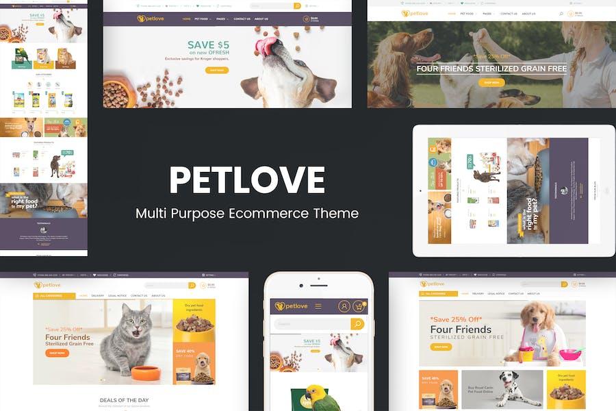 Petlove - Responsive Prestashop Theme
