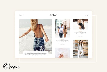 Océano - Exquisito WordPress Blog