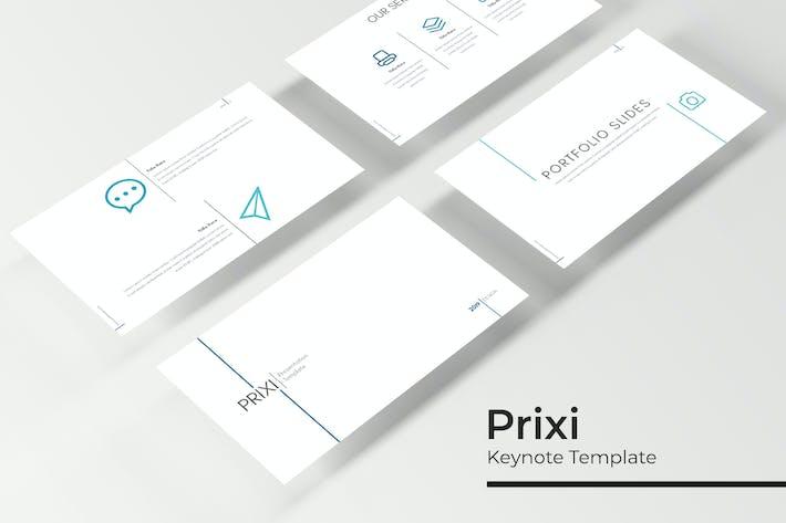 Thumbnail for Prixi - Keynote Template
