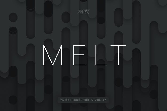 Thumbnail for Melt | Abstract Rounded Backgrounds | Vol. 07