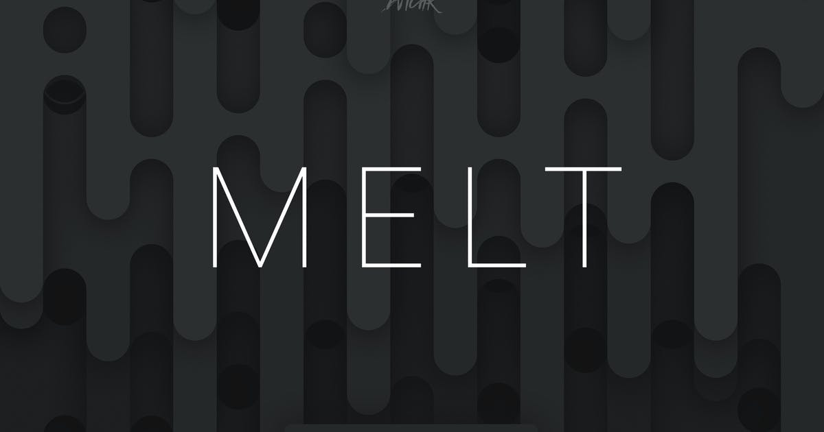 Download Melt | Abstract Rounded Backgrounds | Vol. 07 by devotchkah