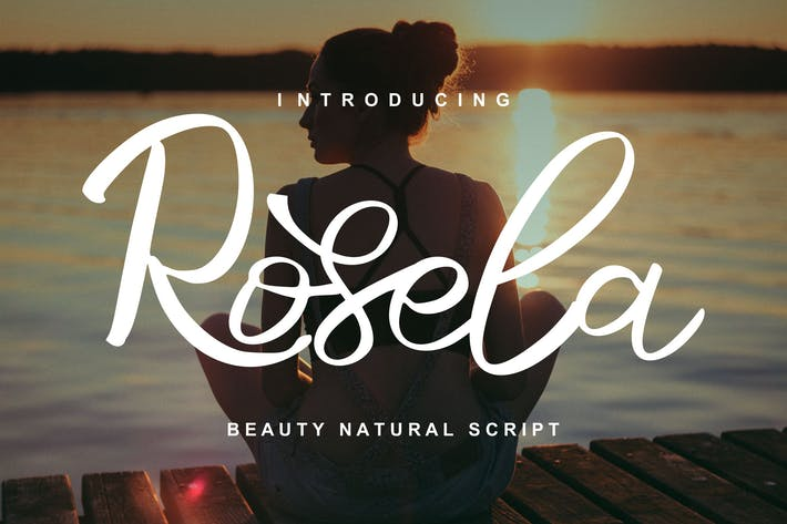 Thumbnail for Rosela | Beauty Natural Script Font