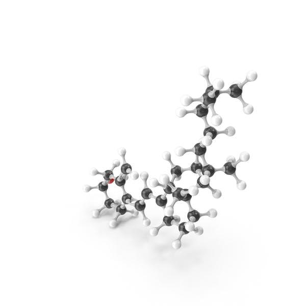 Холекальциферол (витамин D) Молекулярная модель