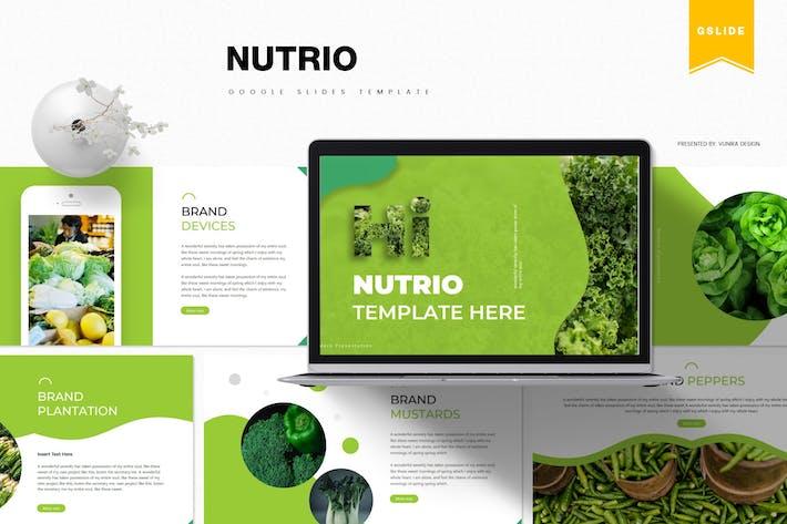 Nutrio | Шаблон слайдов Google