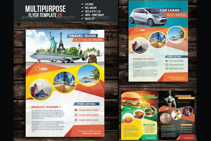 Thumbnail for Multipurpose Flyer Template V6