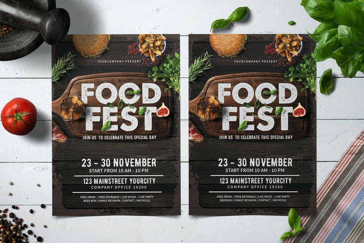 Thumbnail for Food Fest Flyer