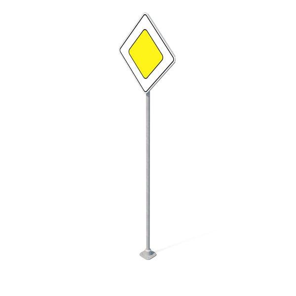 Дорожный знак Главная дорога