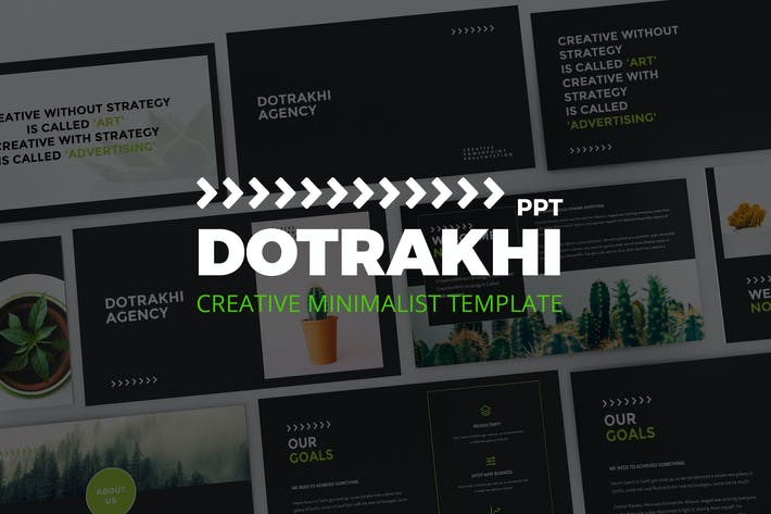 Thumbnail for Dotrakhi - Creative Minimal Powerpoint Template