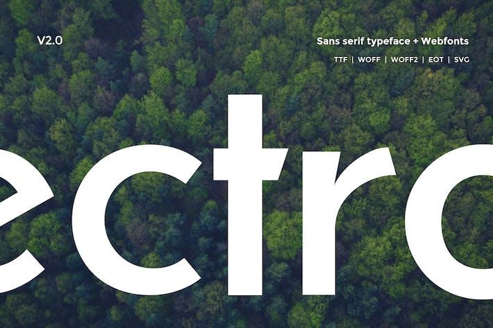 Thumbnail for Electro Sans Typeface V2.0
