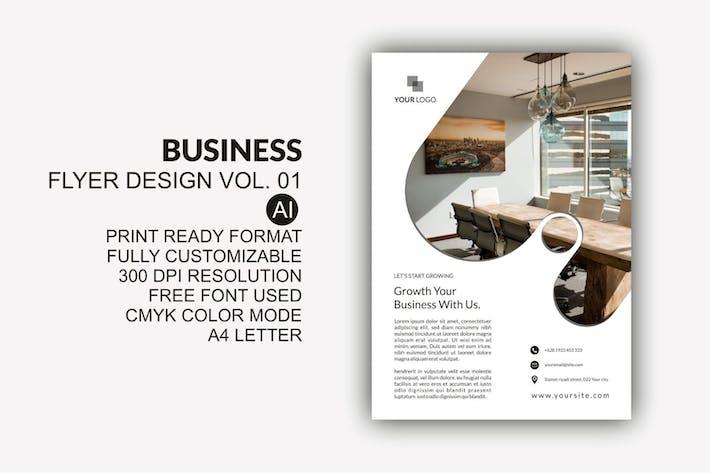 Thumbnail for Business Flyer Design Kit Vol.01