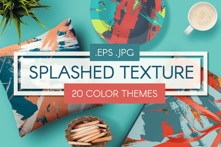 Thumbnail for Grunge Retro Seamless Textures