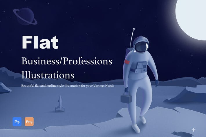 Thumbnail for Business/Professions Illustrations