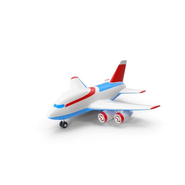 Toy Cartoon Airplane