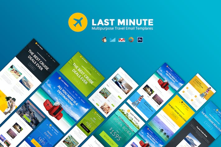 Thumbnail for Last Minute Multipurpose Email Template