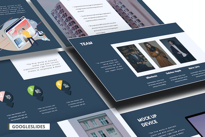 Cover Image For Roogu Corporate Google Slides Template