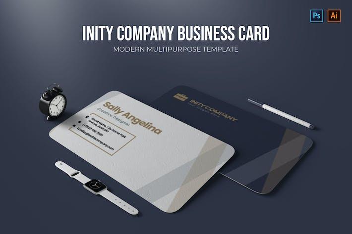 Inity Company - Business Card