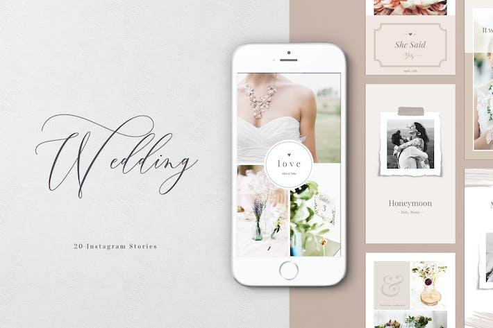 Thumbnail for Historias de Instagram de boda