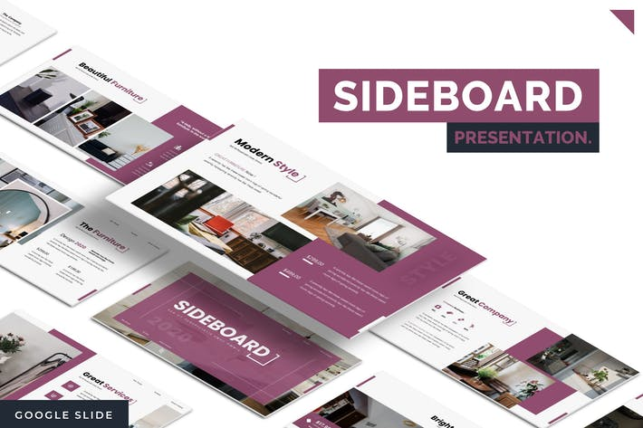 Thumbnail for Sideboard - Google Slides Template