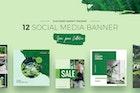 Green Peace Social Media Designs