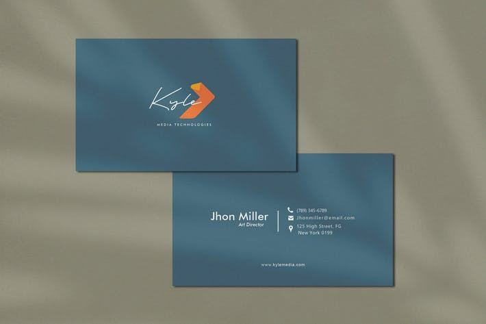 Thumbnail for Modern and Futuristic Business Card