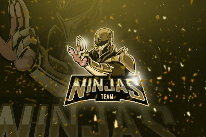 Thumbnail for Ninjas - Mascot & Esport Logo