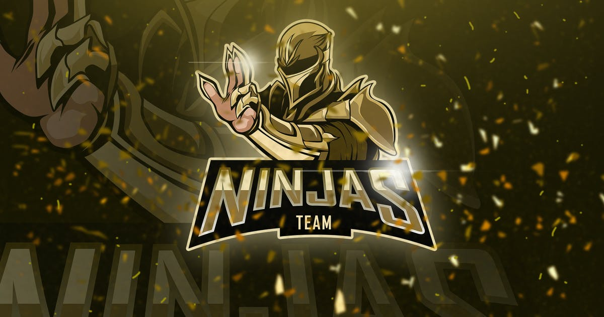 Download Ninjas - Mascot & Esport Logo by aqrstudio