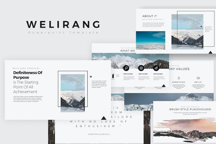 Thumbnail for WELIRANG Google Slides