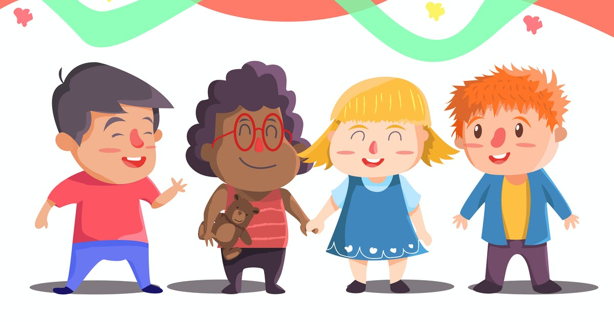 Download Best Friends -  Vector illustration by uicreativenet