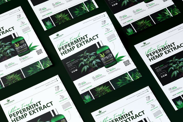 Thumbnail for Hemp Product Flyer