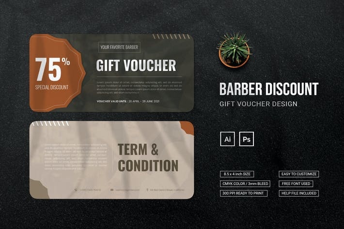 Barber Discount - Gift Voucher