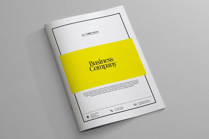 Thumbnail for Business Company Template