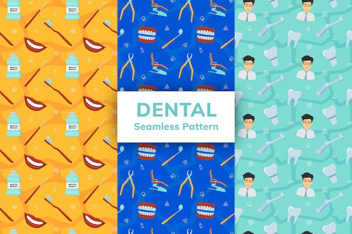 Dental Nahtloses Muster